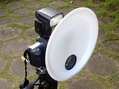 macro photography flash diffuser
