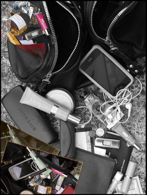 Psynopsis What's In Your Bag Collage