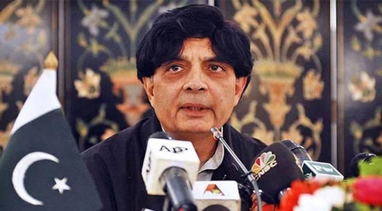 First give evidence then deport any <b>Pakistani, Chaudhry</b> Nisar - Ch-nisar