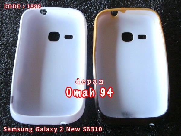 Silikon Soft Case Samsung Galaxy Young 2 New S6310 S6312 Motif Minion