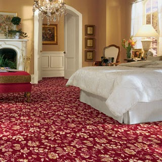 bedroom flooring with philadelphia Shaw FarEast red carpet