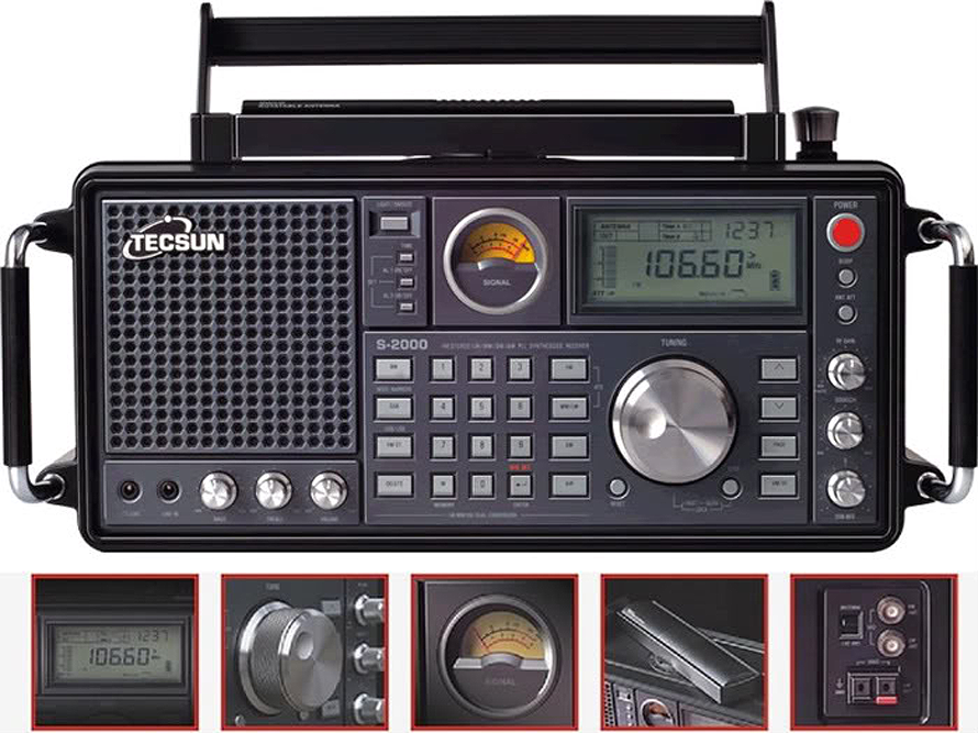 Экстерьер TECSUN S-2000
