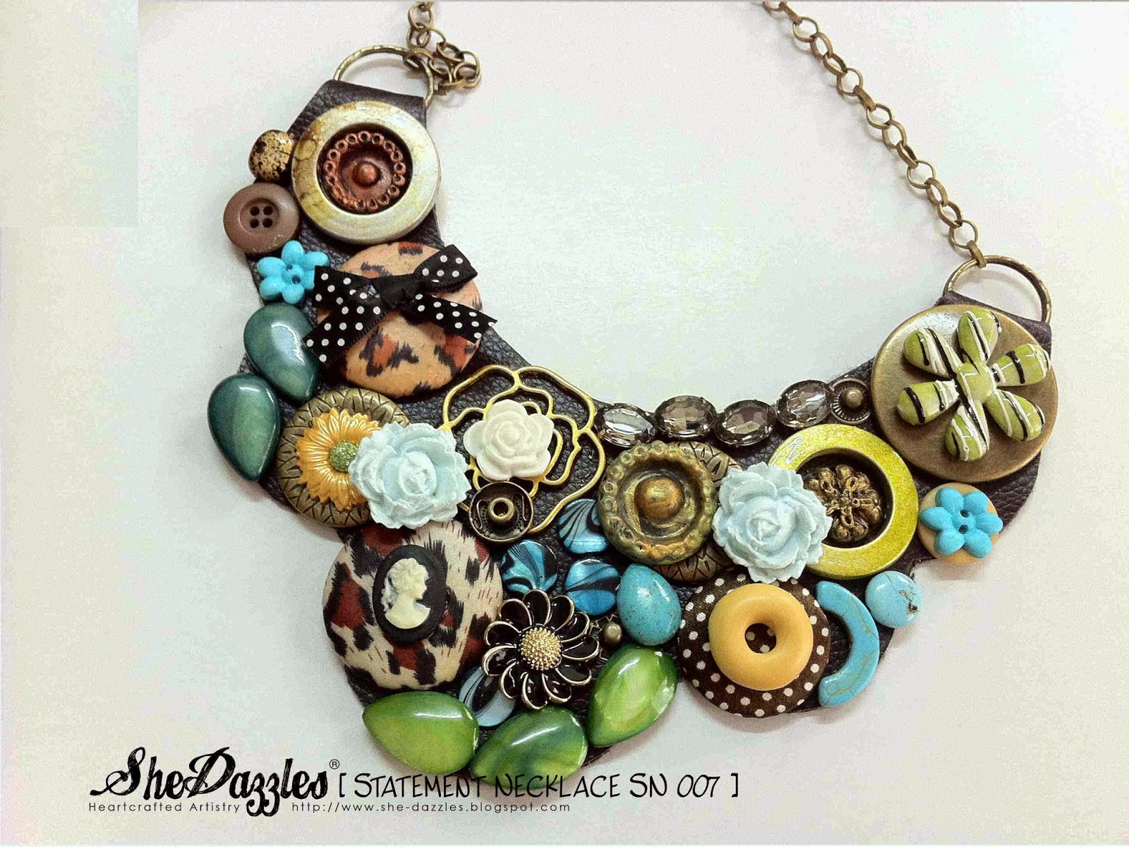 blue-green-floral-bib-statement-necklace-malaysia