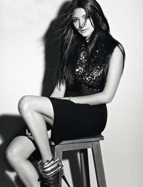 Anushka sharma's hot photoshoot for marie claire