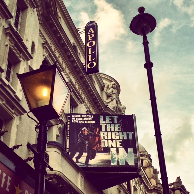 'Let the right one in' at London Apollo theatre