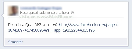 Facebook gusano virus 2012