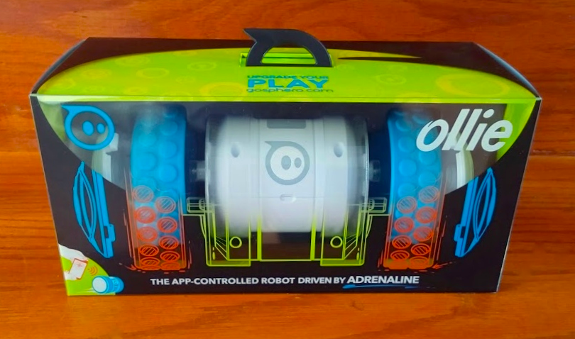 Meet Ollie by Sphero - packaging