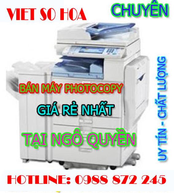 Bán máy photocopy Quận Ngô Quyền