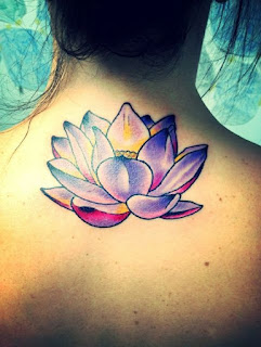 lotus flower tatto