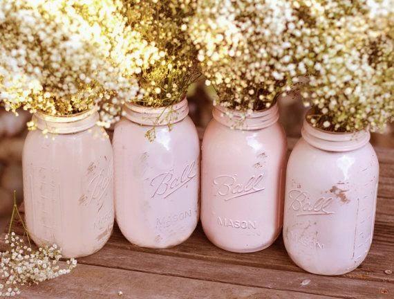 effetto shabby vasi : che sono diventati dei vasi particolari e molto retr?, leffetto ...