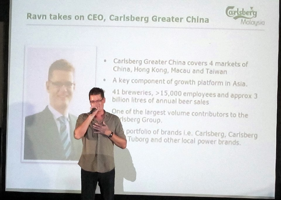 Stephanie Lim: Carlsberg Farewell & Welcome Party at Luna Bar.