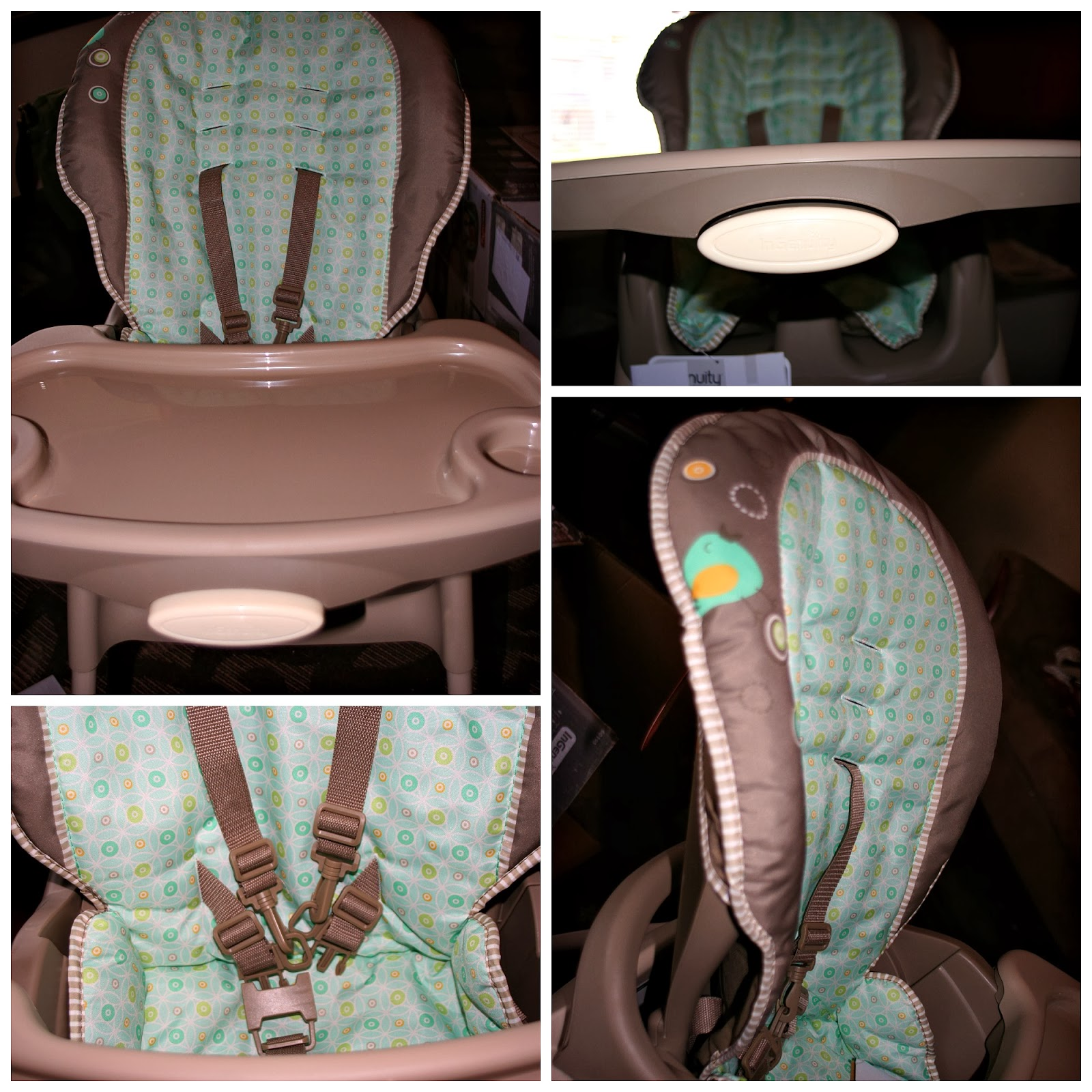The Trio 3 in 1 High Chair in Whimsical Wonders Review