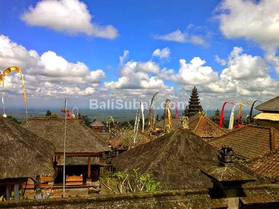 Besakih Temple like a city