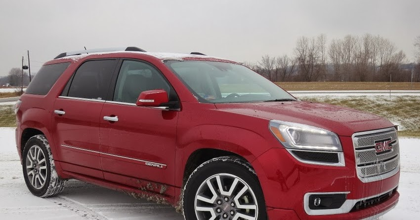 hover motor company 2014 gmc acadia denali test drive review comfort utility and confidence. Black Bedroom Furniture Sets. Home Design Ideas