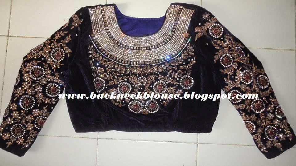 hight neck blouse