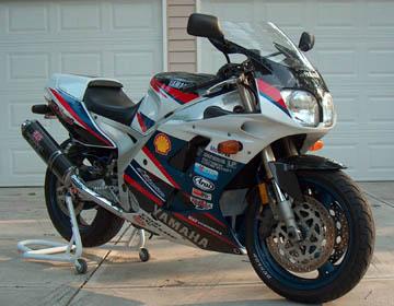 Speedy bikes yamaha fzr 1000 for Yamaha fzr fairings