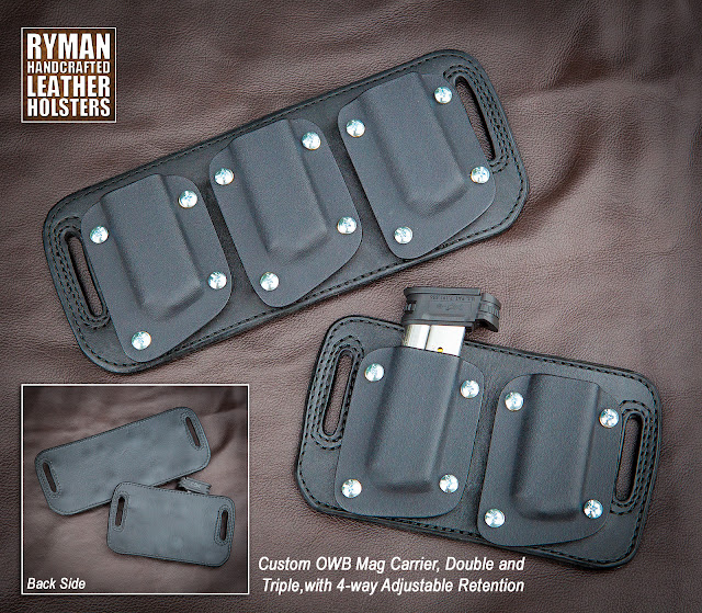 OWB Mag Carrier, Outside the waistband, Ryman Holsters