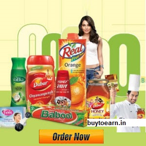 Buy Dabur Health & Personal Care 10% to 30% off + Free Rs. 250 Gift voucher on Rs. 1000