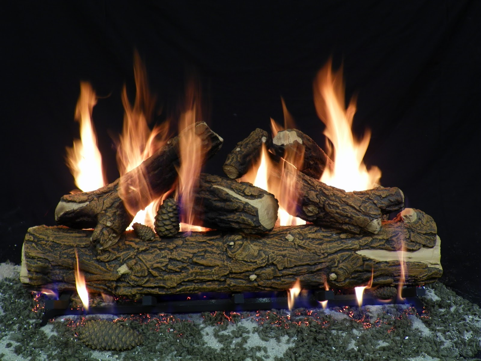 formation creation inc gas log sets