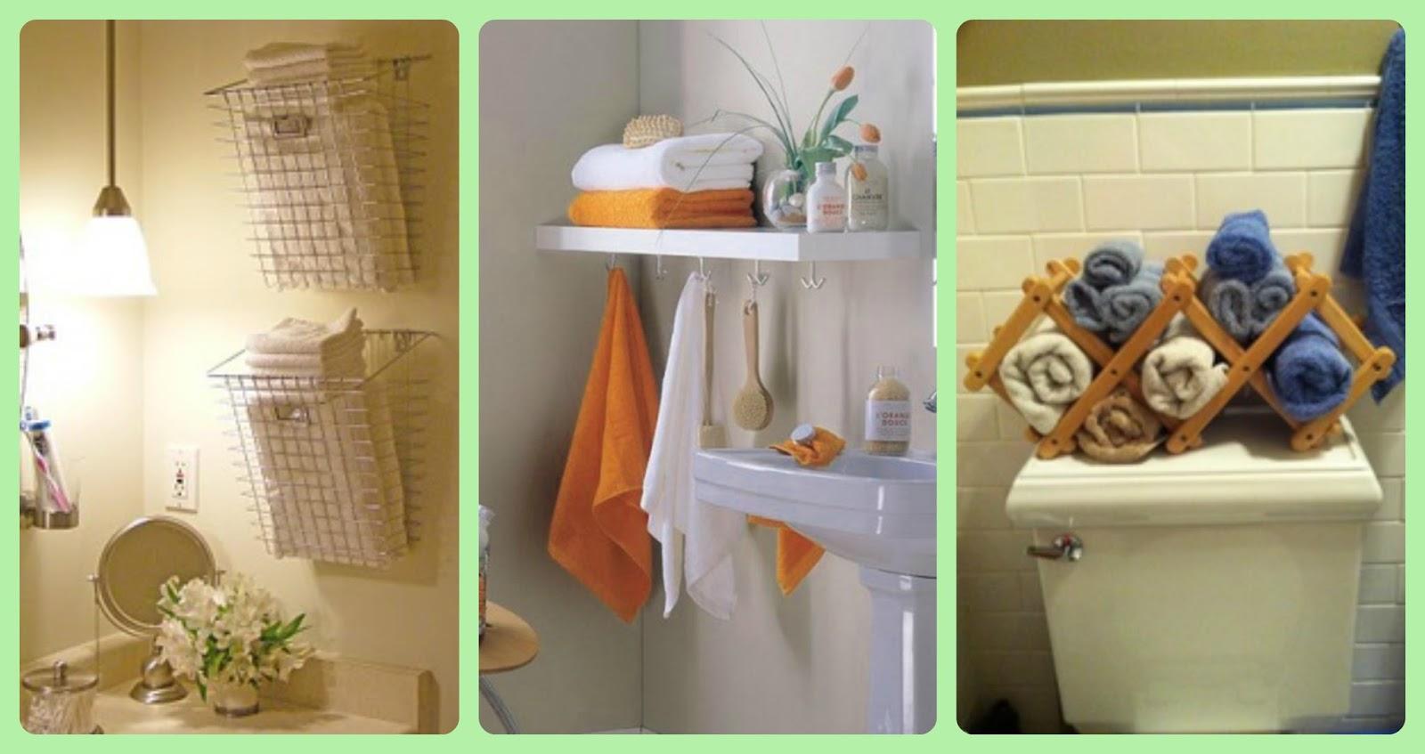 50 Dicas para Você Organizar seu Banheiro ~ Faça Você Mesmo  #9F652C 1600 847