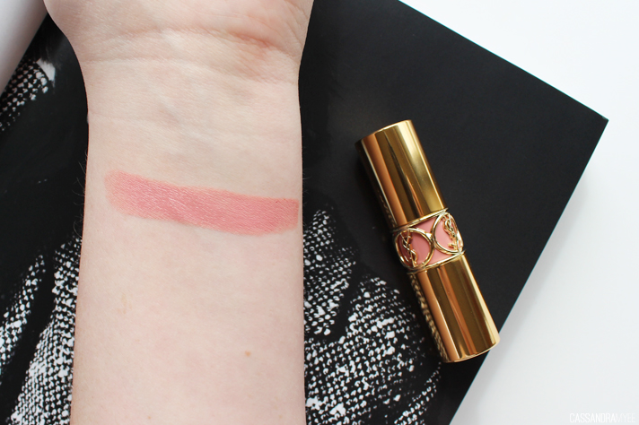 YSL // Rouge Volupte Lipstick in Shade 1 Nude Beige | Review + Swatches - CassandraMyee