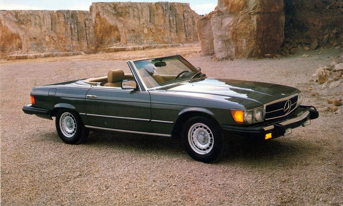 stuurman classic and special cars mercedes benz 380 sl convertible 107 1983 sales brochure. Black Bedroom Furniture Sets. Home Design Ideas