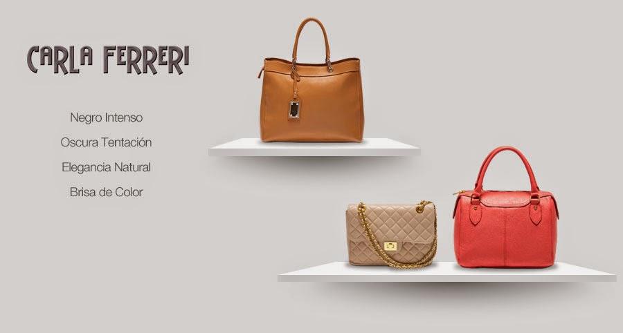Bolsos de Carla Ferreri en Showroom