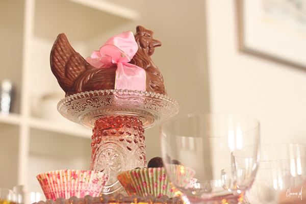 table pâques chocolat clemence m