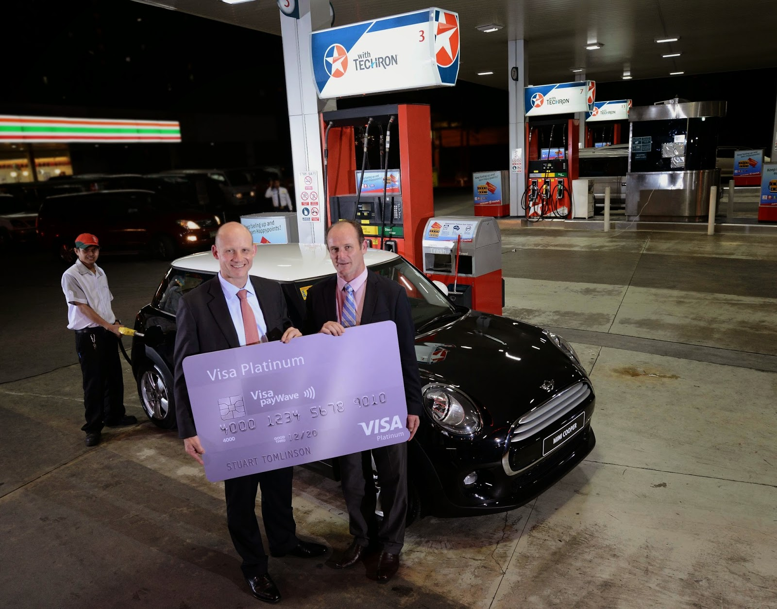 Visa and Caltex Win Big with a Mini Raffle Promo