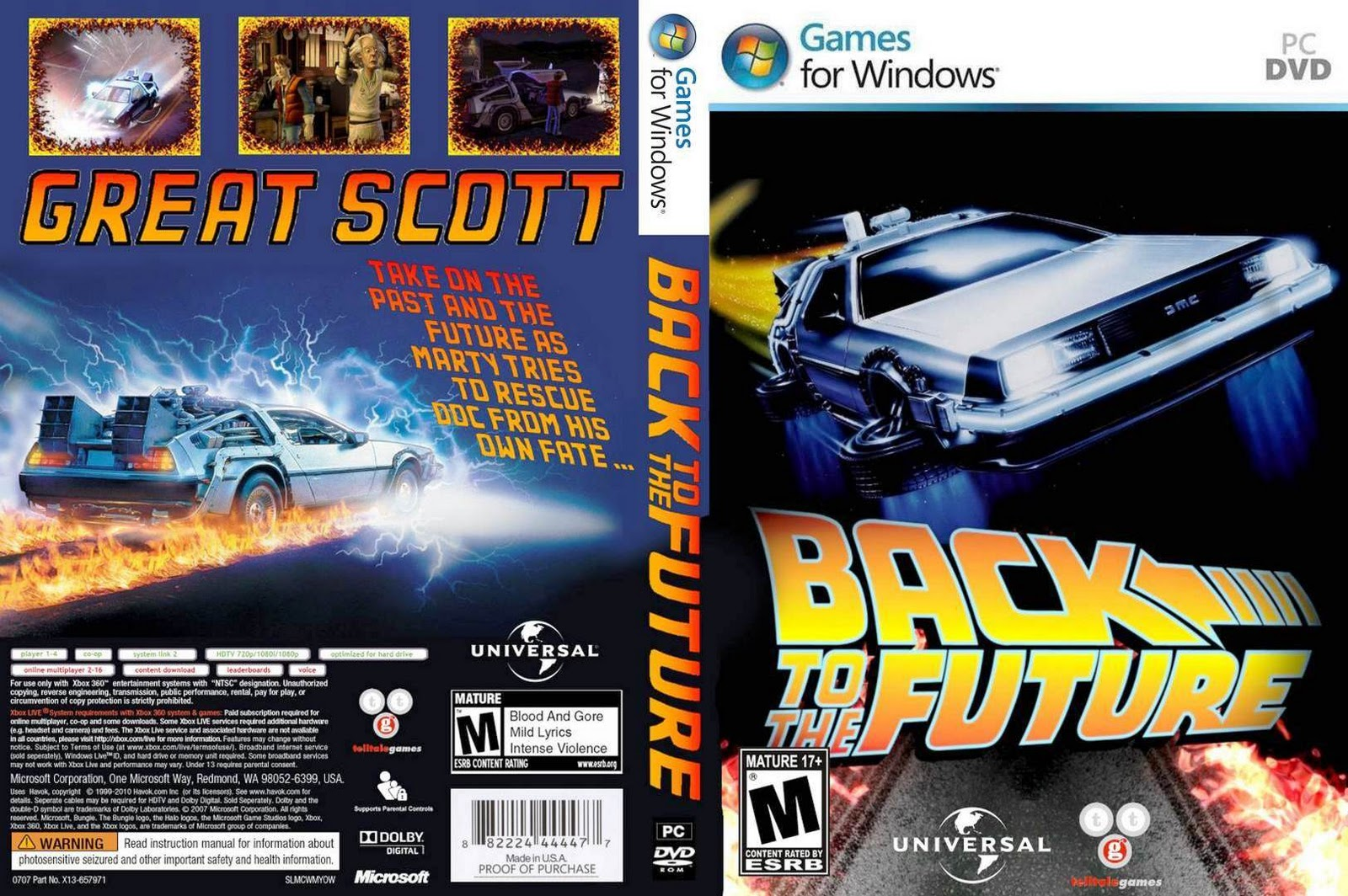 back to the future play