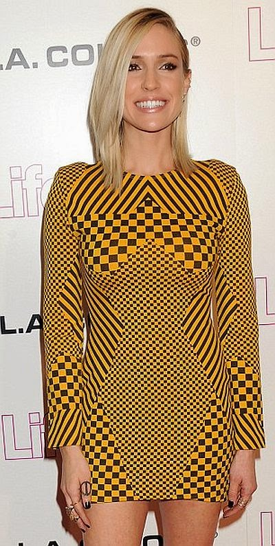 Oh my, she was preparing this great glance in just six months after the pregnancy period. And Kristin Cavallari made sure to positively light up on the Life & Style 10 years anniversary party at the Mondrian at Hollywood, USA on Thursday, October 23, 2014.