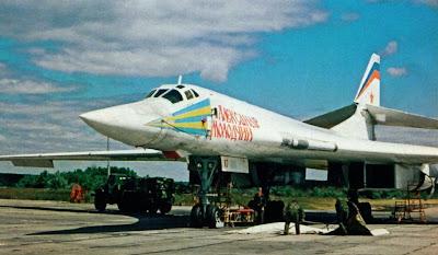 Подготовка Ту-160 к полету, авиабаза Энгельс