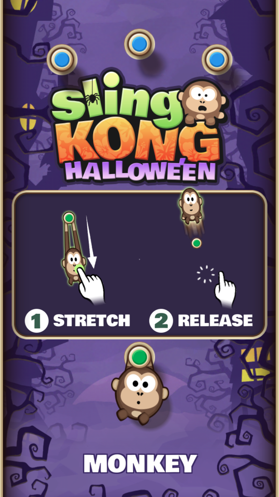 today free android appgame of the day is sling kong