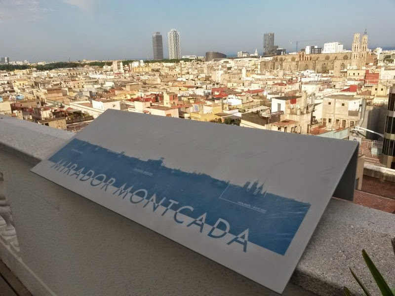 Viewpoint of H10 Montcada Hotel in Barcelona