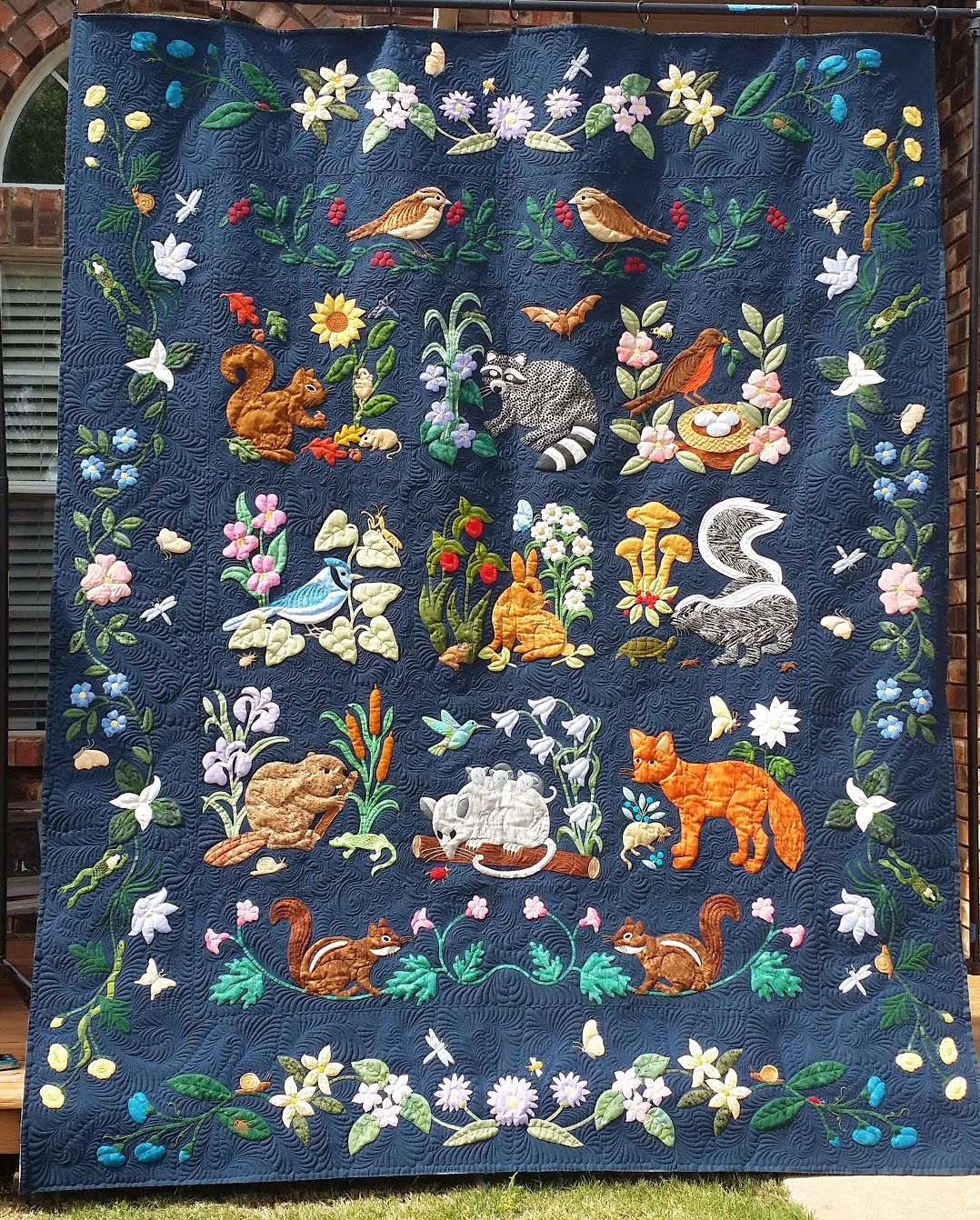 Confessions Of A Serial Quilter Woodland Creatures Reprise