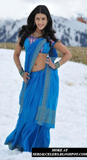 Shruti Hassan navel show