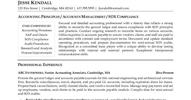 Accountant Lamp Picture: Accountant Sample Resume