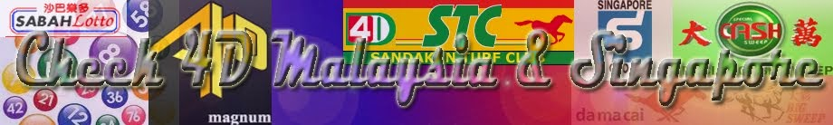 Check-4D Malaysia and Singapore