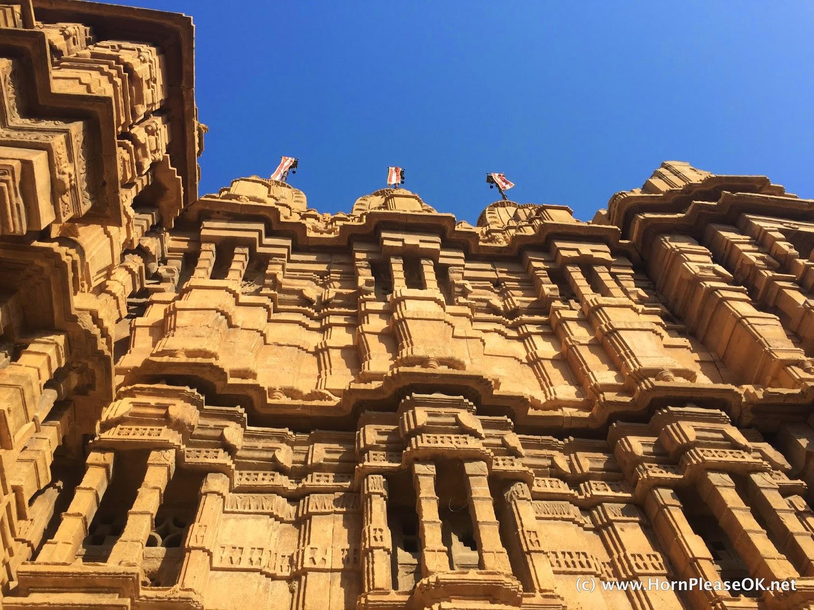 Jain temples inside Jaisalmer Fort