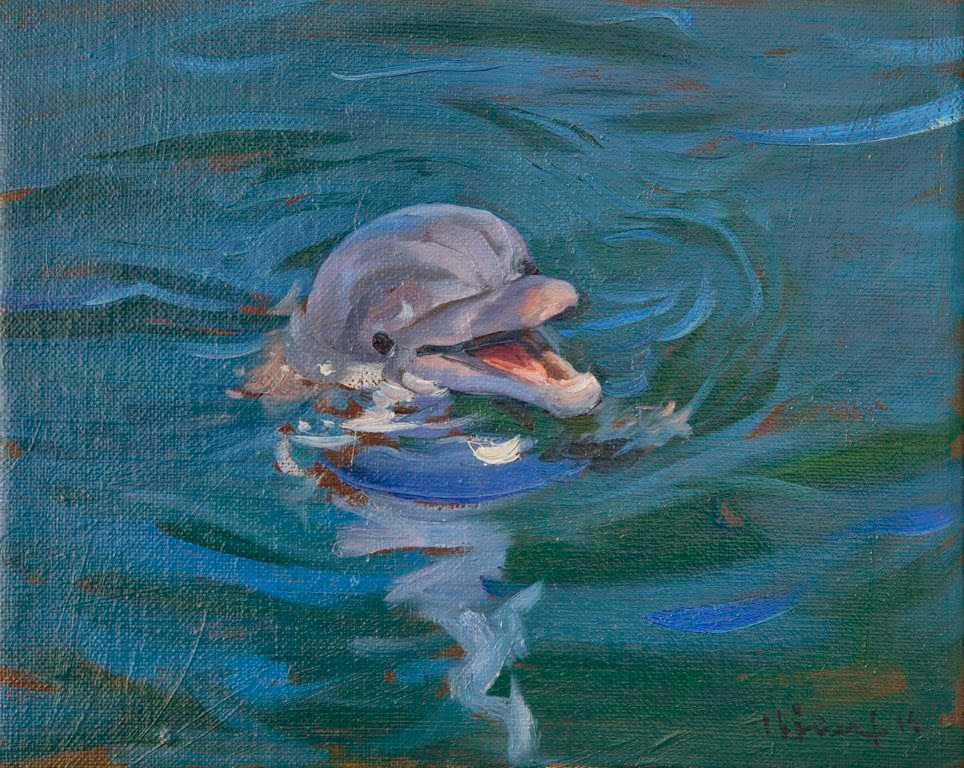 """PROMAR: """"Apunte de un delfín en cautividad·, de Andrés García Ibáñez"""