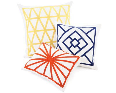 jonathan adler pillow preppy