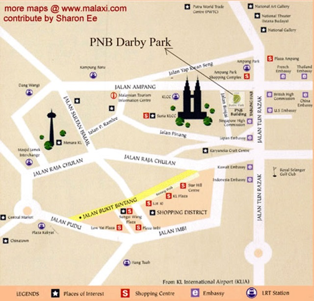 peta pnb perdana hotel