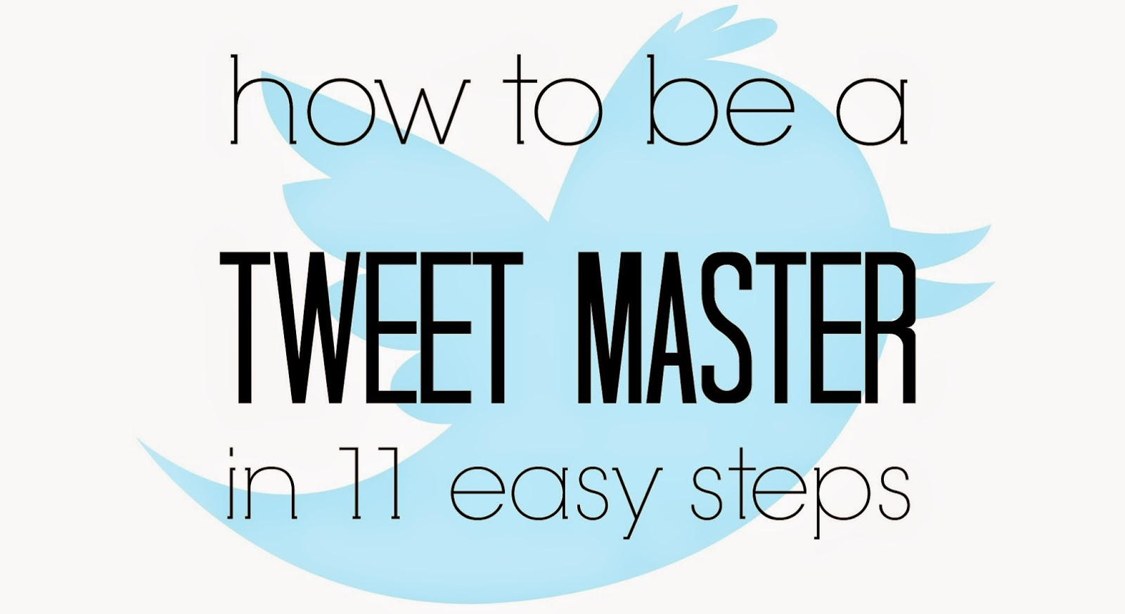 How to maximize twitter as a blogger