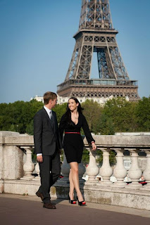 orlando couples in paris wedding