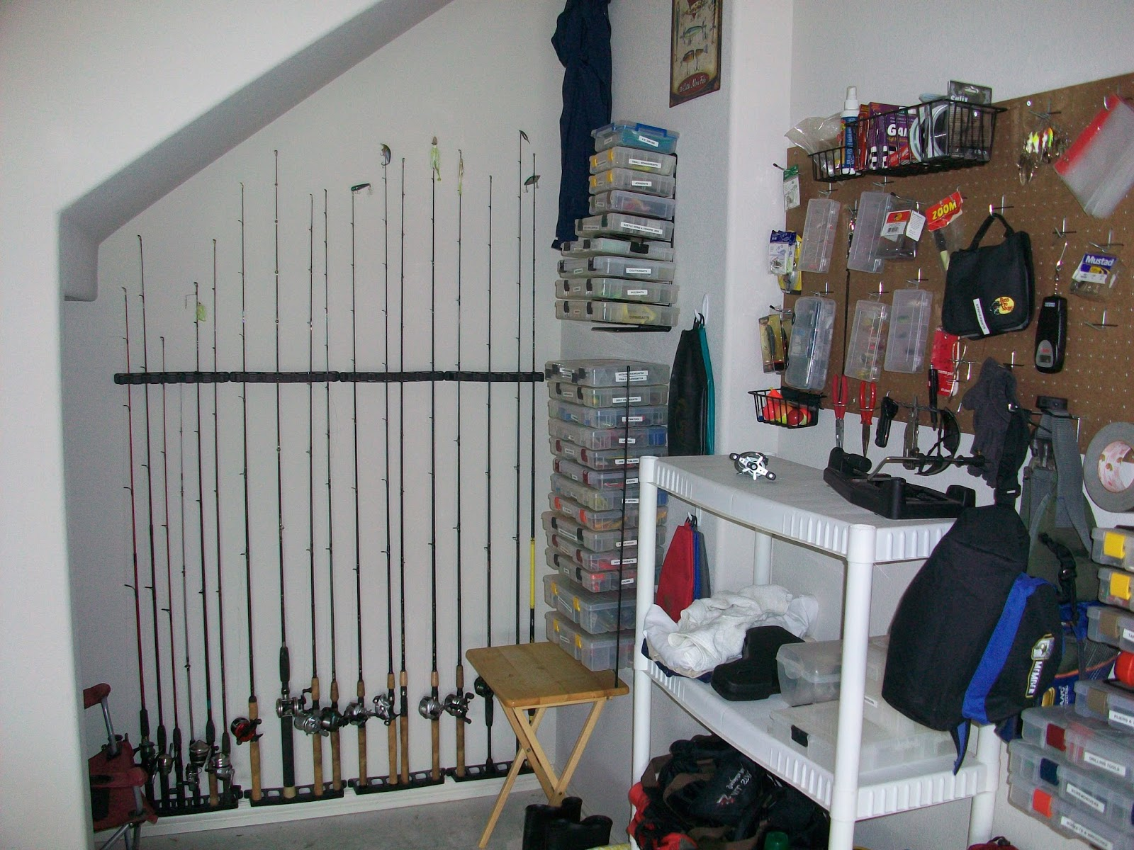 It 39 s important to me organizing fishing tackle without a boat for Fishing tackle organization