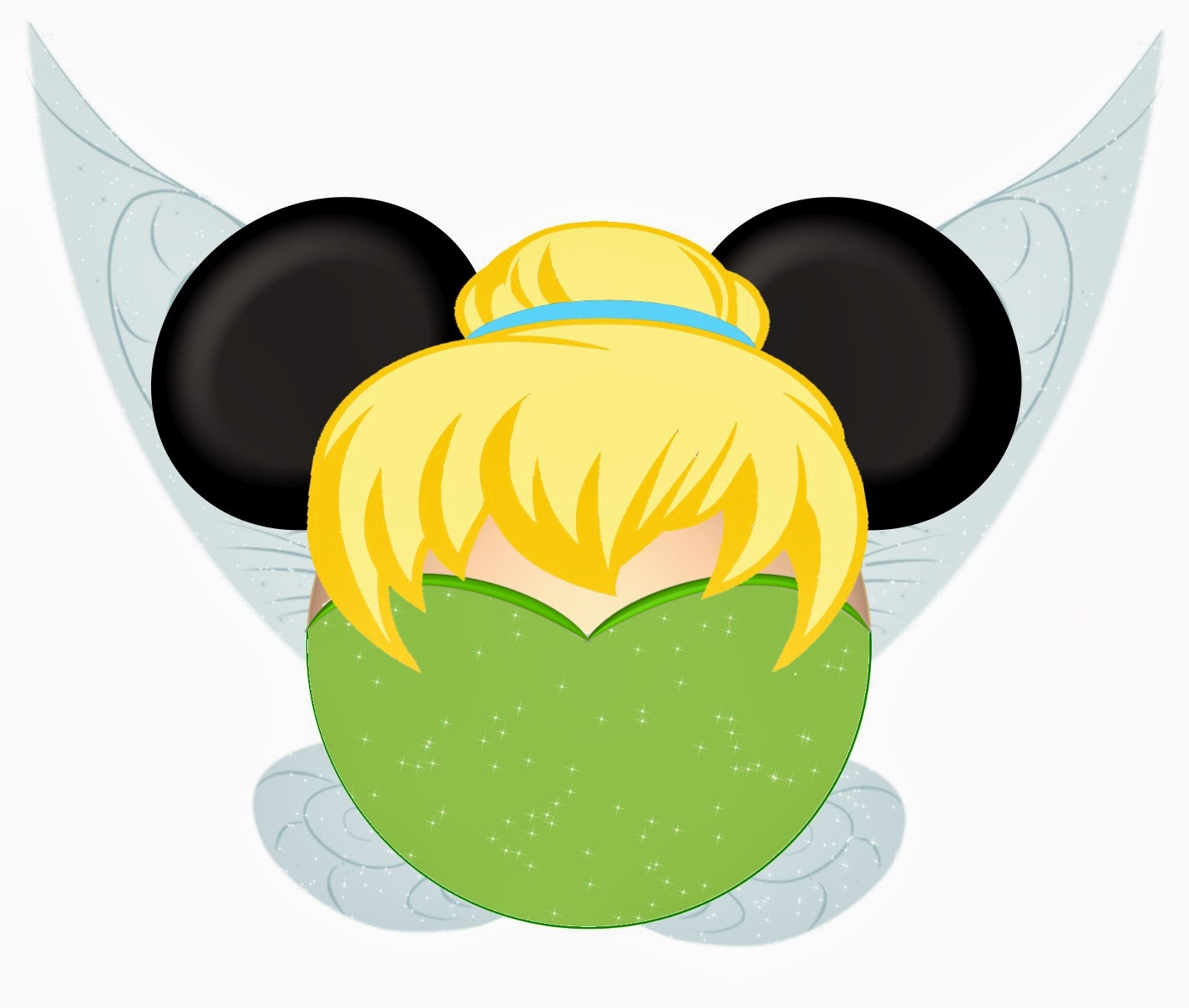 Tinkerbell and Friends in Mickey Heads. | Is it for ...