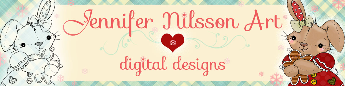 Jennifer Nilsson Art Digital Designs
