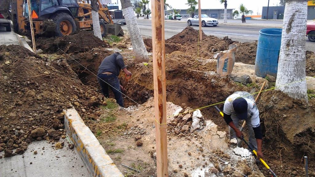 construccin de jardineras y escalera peatonal en calle la palma de la colonia magisterial que conecta a la colonia de agosto la del