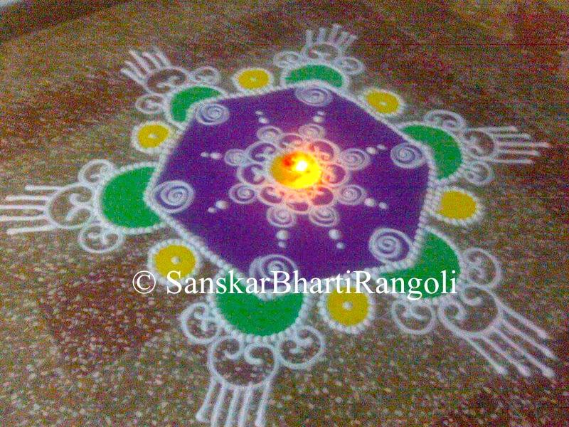 Rangoli Designs For Diwali Easy Sanskar