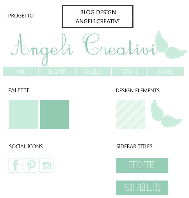 Blog Design: Angeli Creativi